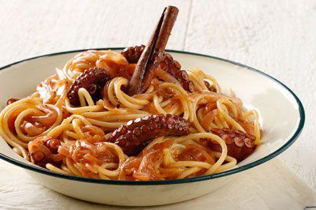 Χταπόδι μακαρονάδα - Συνταγές | γαστρονόμος