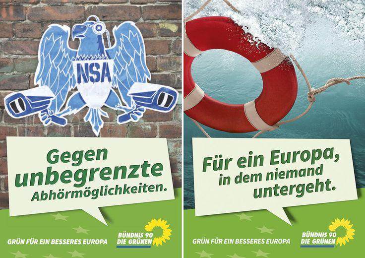 Europawahl 2014 – Die Grünen – Spitzenkanditaten