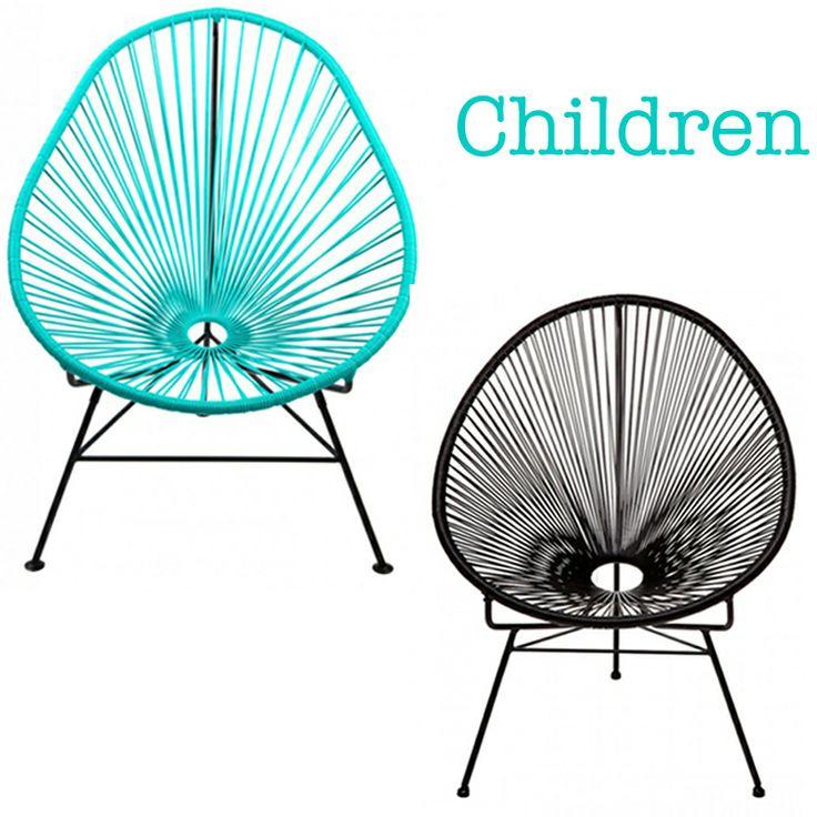 Lovely chairs for children. For outside and inside use. http://www.landromantikk.no/mobler/bord-stoler.html