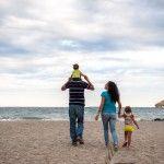Φωτογράφιση οικογένειας Καλλίτση στο Παράλιο Άστρος.  Kallitsi's family shoot.
