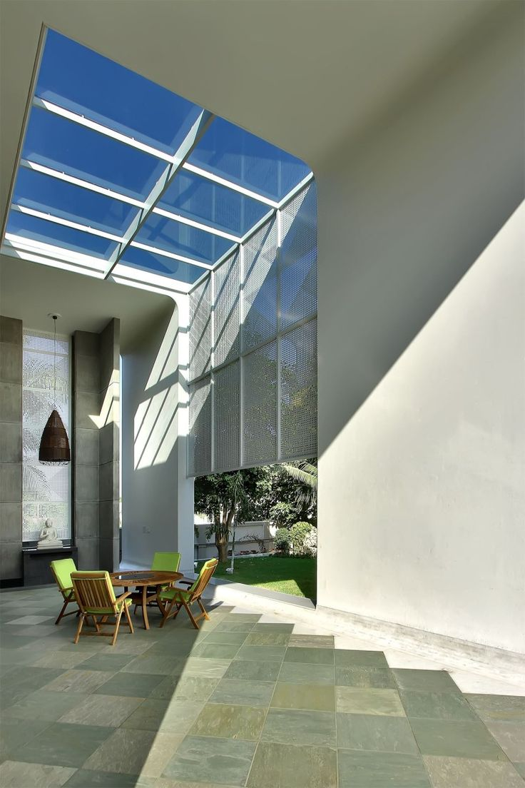 Creative partition ideas courtesy interior architect mohamed amer - Lambhvella House By Dipen Gada Associates Redefines The Definition Of Indian Contemporary Architecture