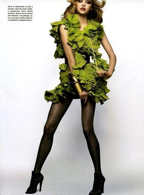 GREEN FASHION PHOTO