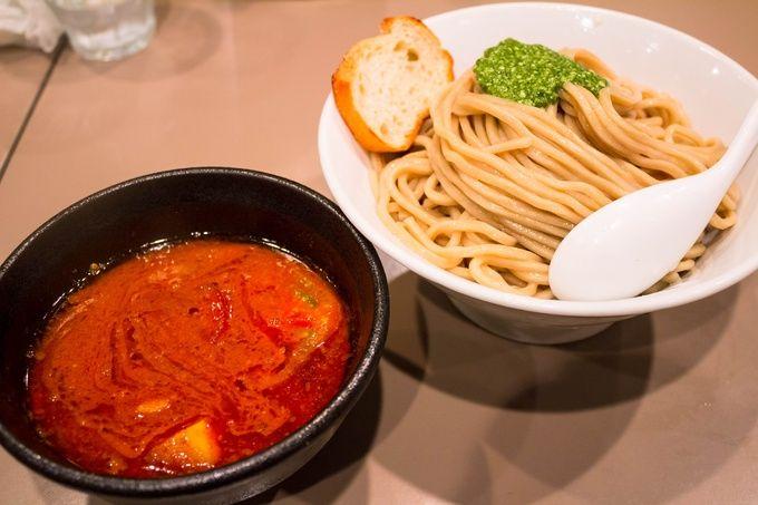 「つけ麺 五ノ神製作所」新宿  海老トマトつけ麺