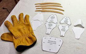 Freddy Krueger glove pattern