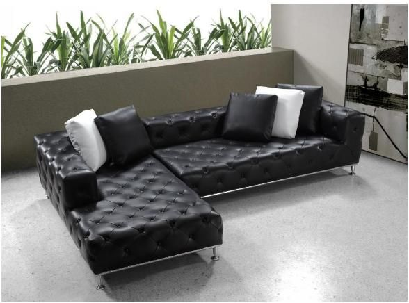 leather sectional sofa bed - Sectional Leather Sofas