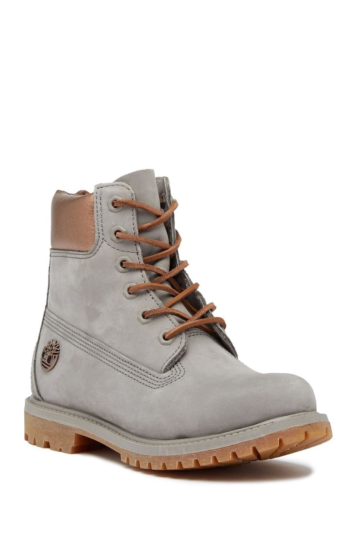 "6"" Premium Metallic Waterproof Boot by Timberland on @HauteLook"