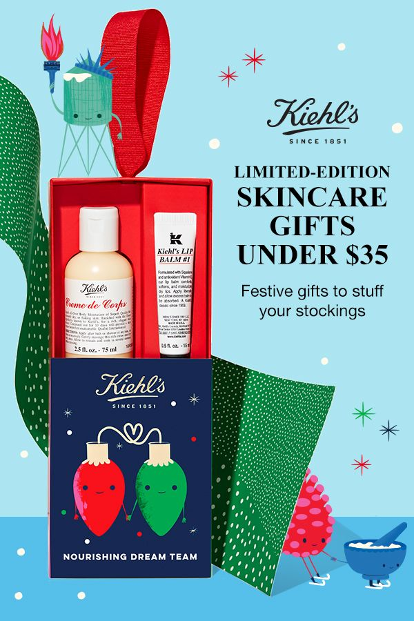 Kiehls Christmas 2020 Sets Gifts Under $35 | Skin care gifts, Holiday skincare, Holiday gift sets