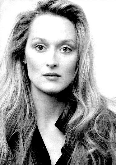 """Meryl Streep - her own unique, real beauty is way above the superficial """"beauty"""" of most pop culture celebrities today."""