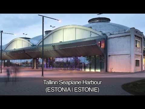 VIDEÓ: Az Europa Nostra 2013 egyik nagydíjasa a Hidroplánhangár, Tallinn, Észtország.