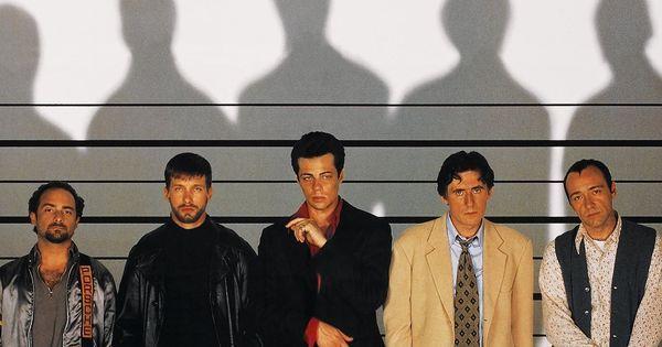 'The Usual Suspects' (1995) com Kevin Pollak, Stephen Baldwin, Benicio Del Toro, Gabriel Byrne e Kevin Spacey   Love the movies   Pinterest   Gabriel byrne, Ke…