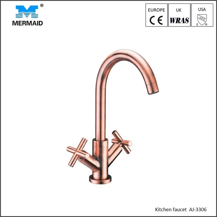 Rose Gold Exquisite Faucet With Individual Lever Kitchen Taps Uk ,