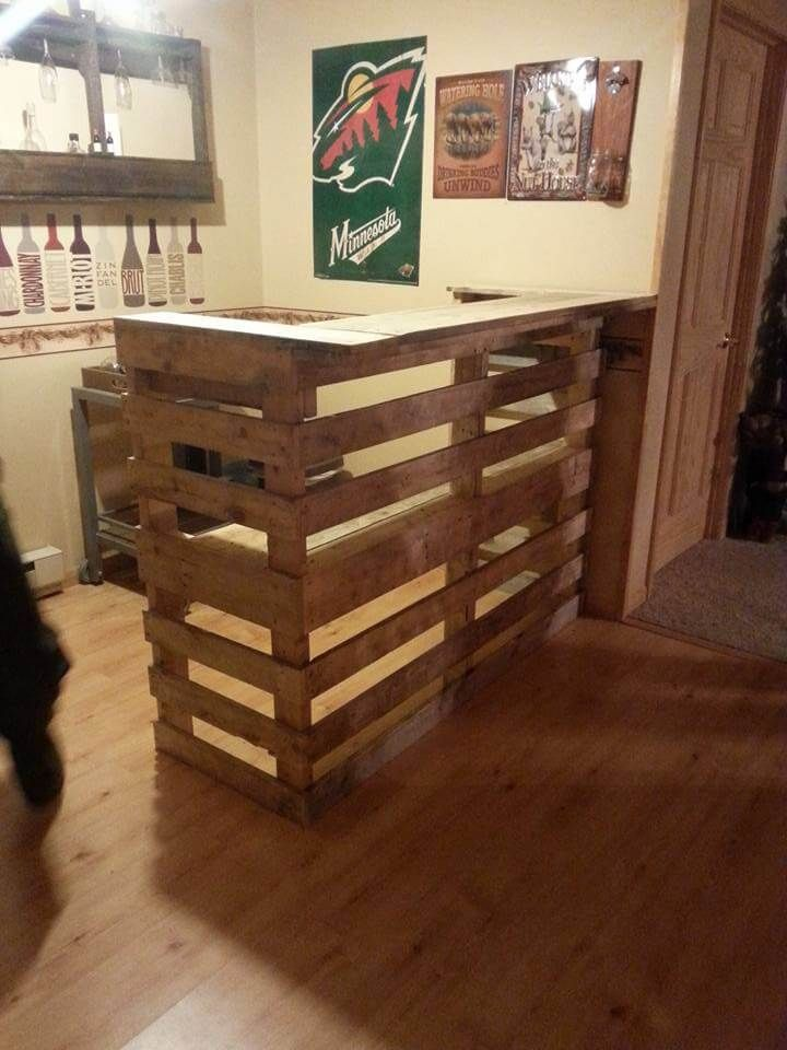Best 25 Wood Pallet Bar Ideas On Pinterest Pallett Bar