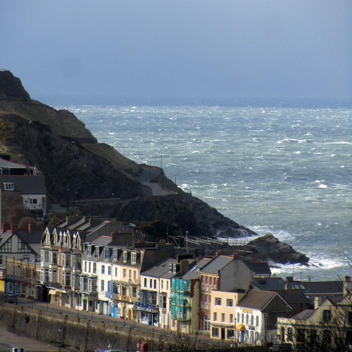 Angular sea, off Ilfracombe, North Devon