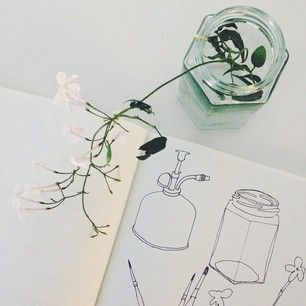 AUG | Line Work | Development drawing by @ljns_