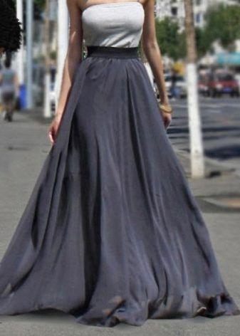 Юбка полусолнце (194 фото): с чем носить, отличия, в пол ...