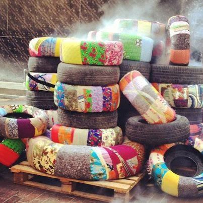 Garden Ideas Using Old Tires 257 best recycled tyre ideas for the garden images on pinterest