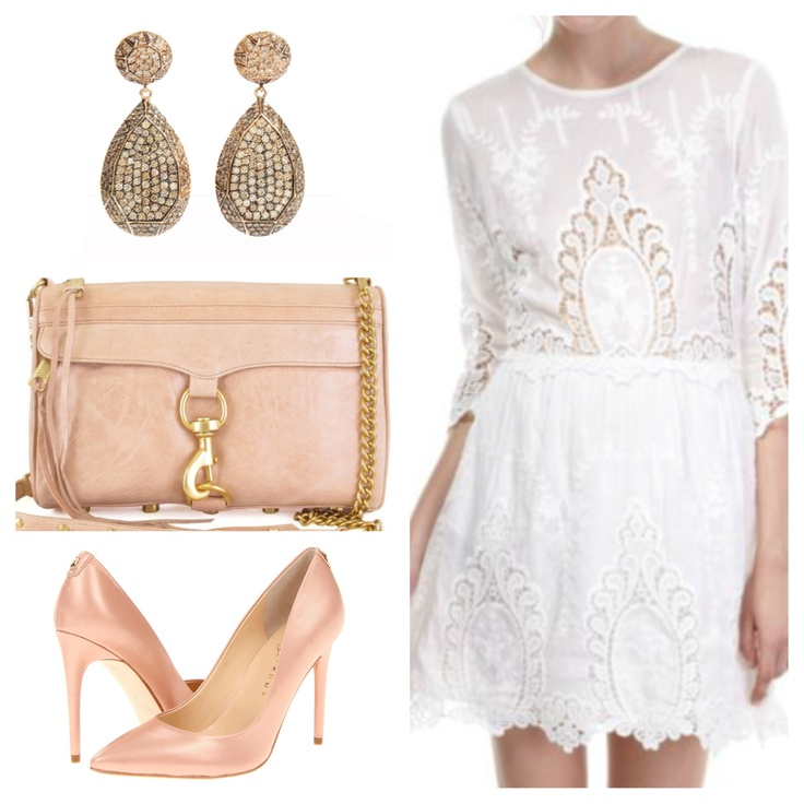Dolce Vita Valentina dress, Ivanka Trunk pumps, Rebecca Minkoff bag.