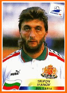 Trifon Ivanov of Bulgaria. 1998 World Cup Finals card.