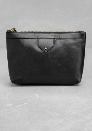 Leather Vanity Bag