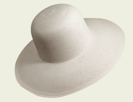 Items related to Panama Cloche  #hat #hats #womanhats #panama #cloche #clochehat #accessories #bianco #white