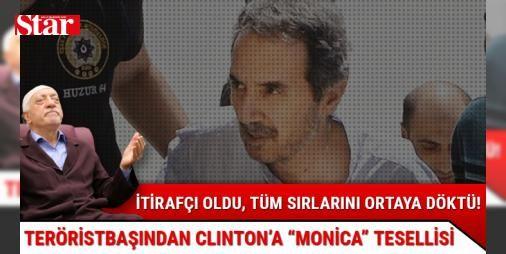 FETÖ elebaşına en yakın isimlerden Ali Ünal itirafçı oldu!: FETÖ elebaşına en yakın isimlerden Ali Ünal, darbe kâhini NeoCon Michael Rubin'i 15 Temmuz'dan bir yıl önce Pensilvanya'da gördüğünü anlattı. Gülen'in sırlarını ortaya döken Ünal, teröristbaşının Monica için Clinton'a mektup yolladığını da ifşa etti.