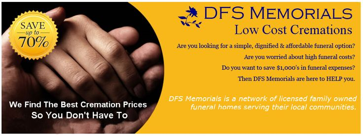 Why take up space on this Earth and cause undue expense upon death - DFS Memorials - The Simple, Dignified and Affordable Cremation Option