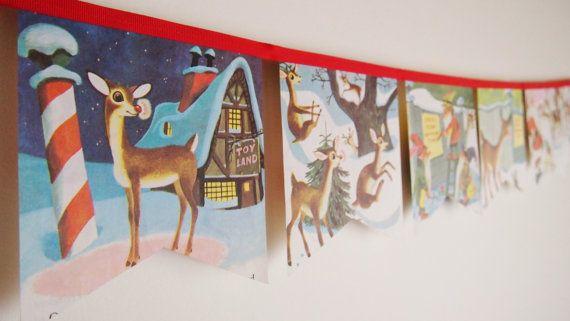 Rudolph le renne au nez rouge-Little Golden Book Bunting