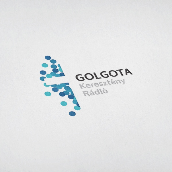Golgota Christian Radio - Logo Tender by Tibor Hornyák, via Behance