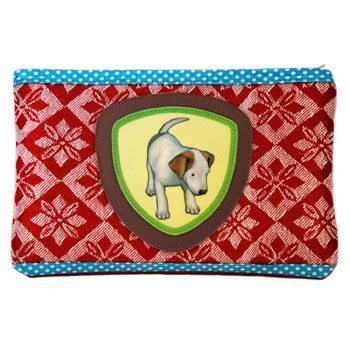 94-941 MAKEUP-CASE LITTLE PUPPY via Camilla Martelius Design. Click on the image to see more!