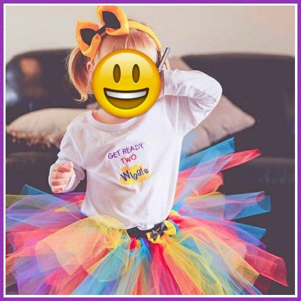 Wiggles inspired outfit for 2nd birthday
