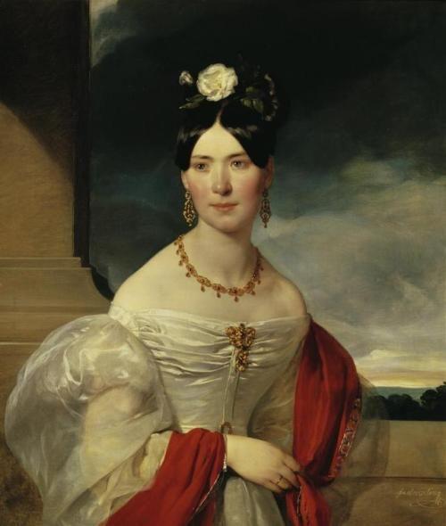 1832 Friedrich von Amerling - Marie Freiin Vesque von Püttlingen