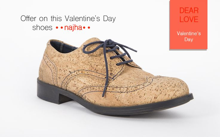 Didn't buy the gift for your love yet?  NAJHA has the ideal gift// Visit us// Najha in love #Najha #najhashoes #corknajha #najhavegan #najhawalkincork #socalco #allaboutcork #ecoshoes #greenshoes #fnplatform #solecommerce #ethicaltradeshow #kurk #soberano #corcho #corkshoes #goodyearwelted #sustainableahoes #online #corkfashion #economiasolidária #ecofriendlyfashion #ecofriendlyproducts #corkproducts #veganfashion #Ecoportugal