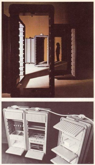 Ettore Sottsass jr., Mobile and Flexible Environment Module, 1972 – SOCKS