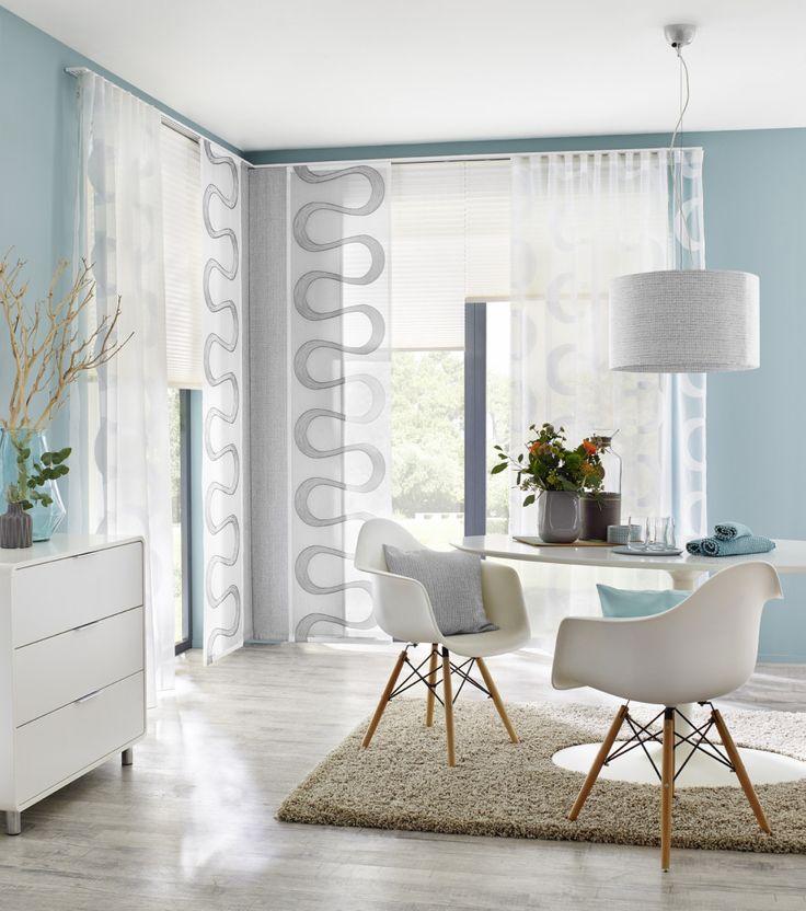 9 best Vorhänge images on Pinterest - raffrollo f r wohnzimmer