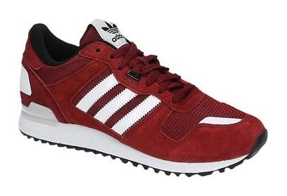 Adidas ZX 700 rode lage sneakers
