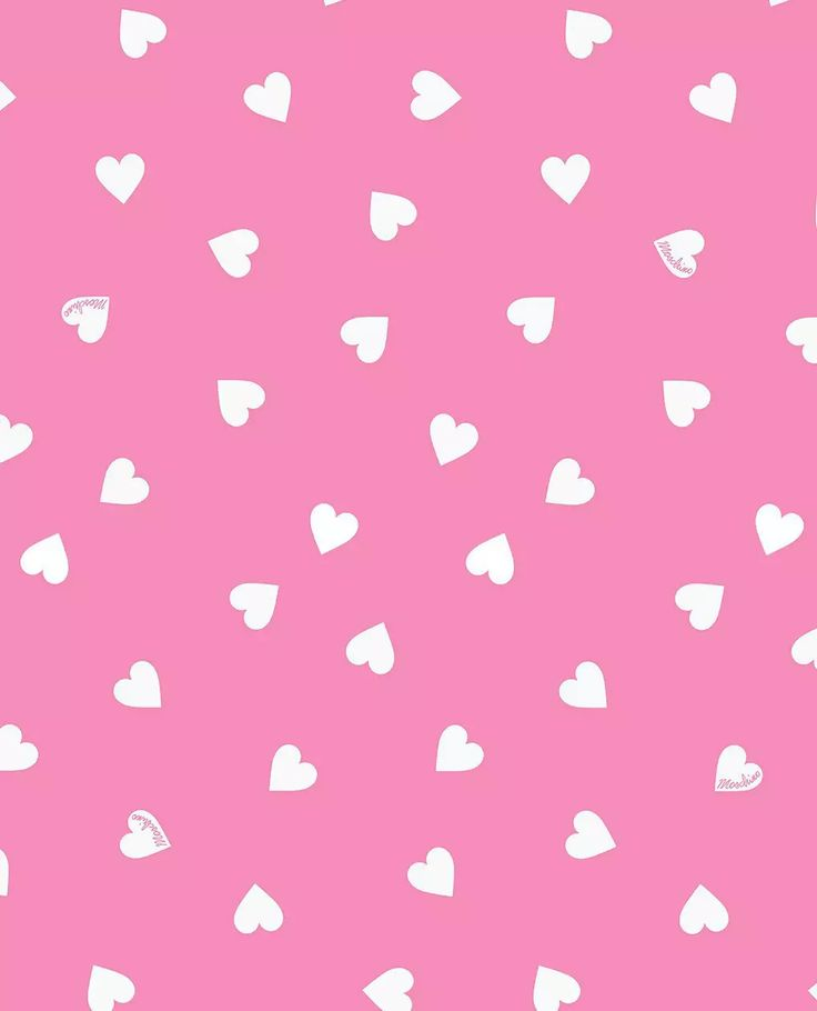 Love Pink Wallpaper Backgrounds : Moschino love heart pink on We Heart It Hearts Pinterest We, Moschino and Pink