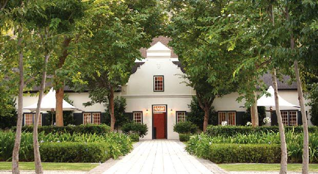 Grande Provence Heritage Wine Estate located in Franschhoek, South Africa.