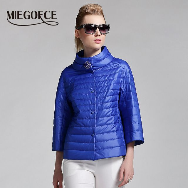 MIEGOFCE 2016 new spring short jacket women fashion coat padded cotton jacket outwear High Quality Warm parka Women's Clothing US $55.50 /piece    CLICK LINK TO BUY THE PRODUCT  http://goo.gl/oYWEYs