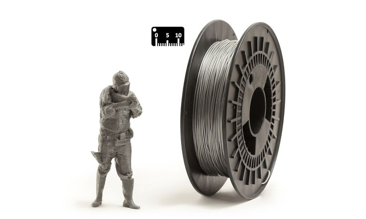 TPU FLEX by EUMAKERS by the meter (by the yard)   Color: silver   Available in 1.75 mm diameter on spools of 500 g net of material, FLEX EUMAKERS is a high quality and easy-to-use filament, which is ideal for prototypes that require flexibility   Choose from the assortment of four colours (white, black, natural and silver) and colour your world with EUMAKERS   www.monzamakers.com/shop   #3dprinting #stampa3d #3dprint #tpu #flex#3dfilaments #3dfilament