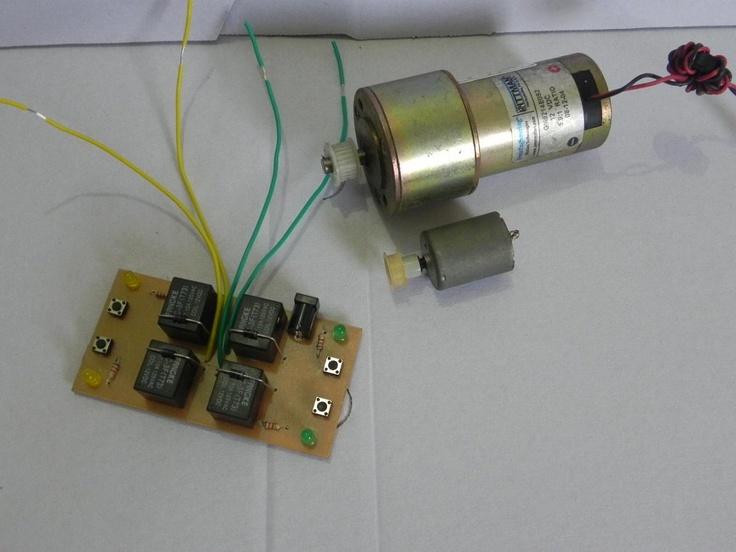 Controlador De Motor Para Robô De Sumô (competição - Guerra)