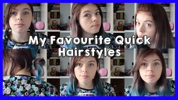 My Favourite Quick Hairstyles