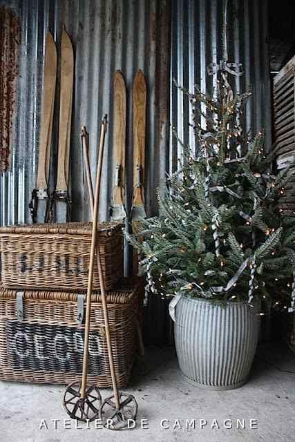 Ski Lodge Christmas Decorations