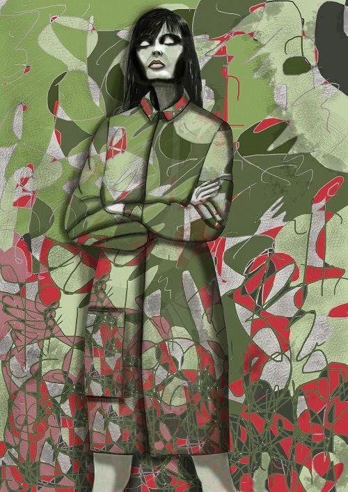 mimikra #mskpu #drowings #fashionilustration #fashion #art.