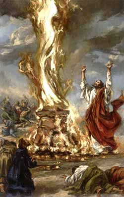 Elijah calls down fire on Baal priests | 1 Kings 18