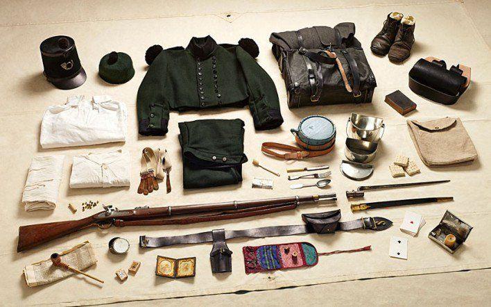 1854 private soldier, Rifle Brigade, Battle of Alma