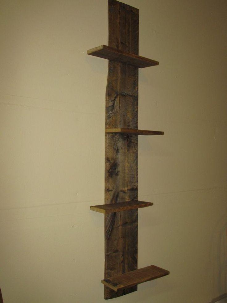 Redeemed pallet floating wood shelves must see diy for Pallet floating shelves