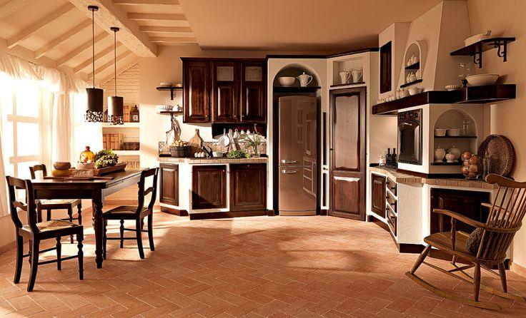 gemauerte k chen landhausstil. Black Bedroom Furniture Sets. Home Design Ideas