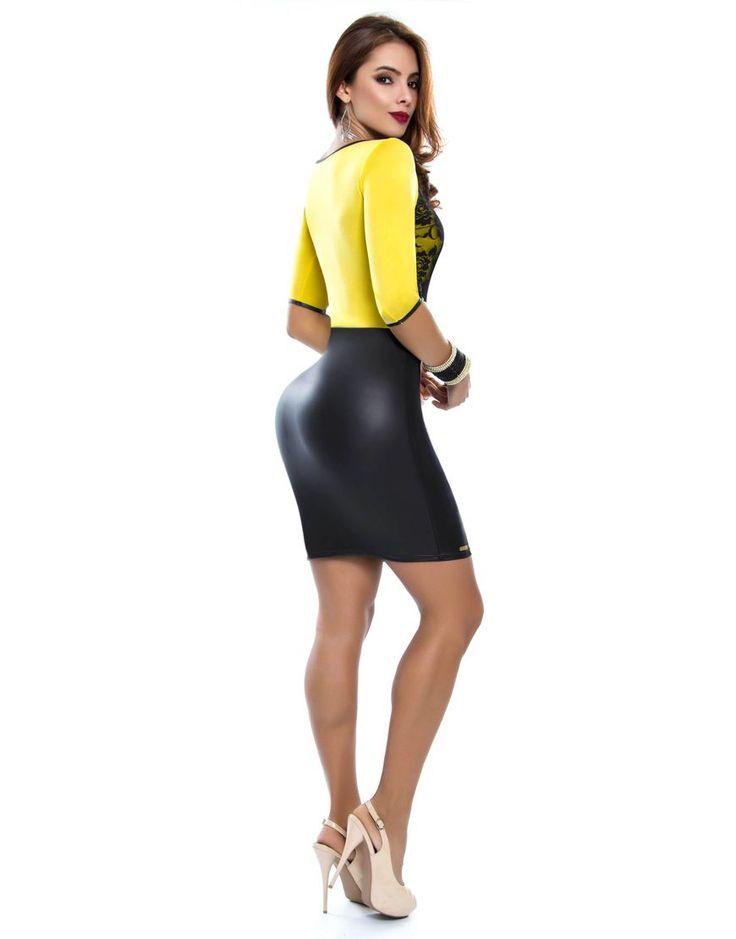 Vestido PV-2032-AM TRASERA