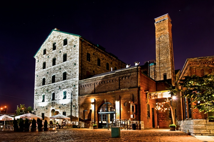 The Distillery District, Toronto.