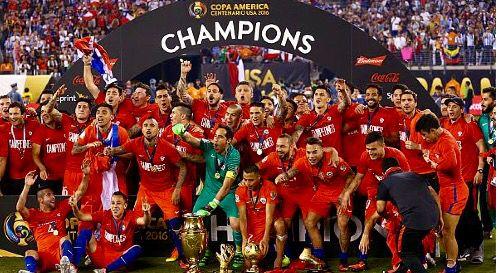 Chile 2016 copa america champions